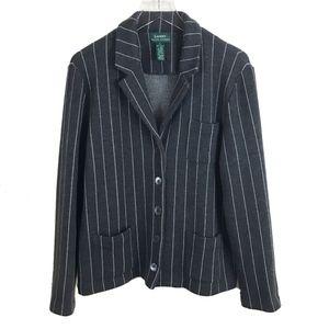 Lauren Ralph Lauren Womens Merino Wool Jacket  - L